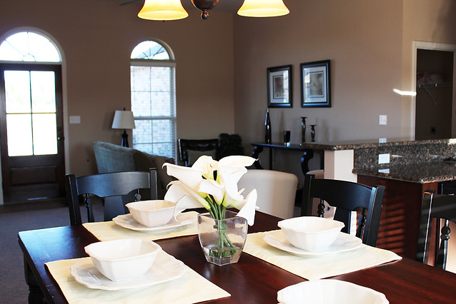Open Dining Areas