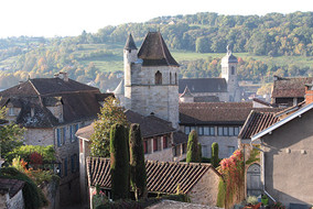 chateau du Puy, église st Sauveur