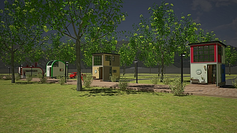 RENDER 3 HEMP VILLAGE TinyHouse 1920X108