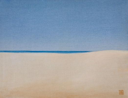 김보희 Towards, 41 x 53 cm, Color on canvas