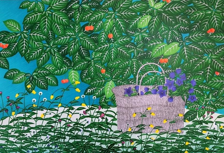 유의랑 - Under the Tree, 47x66(56x78 ), Ed.