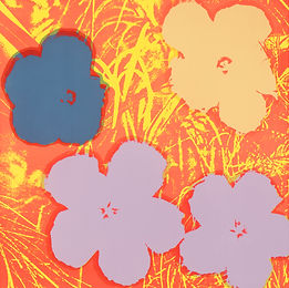 Andy Warhol_Flowers, 90 x 90cm (50호), sc