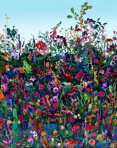 KwonSunYoung,Garden,Acrylic and Paper Co
