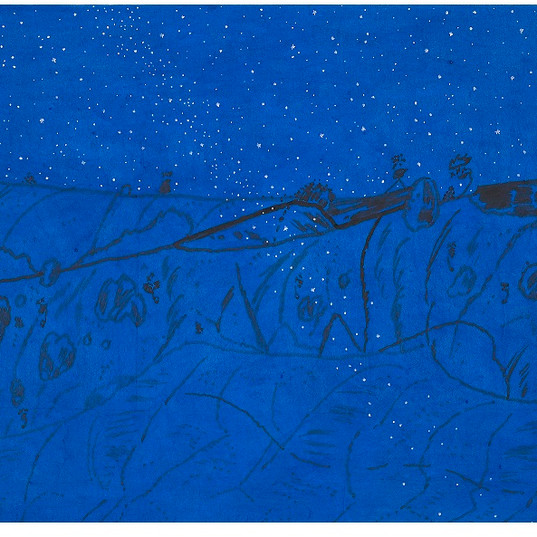 느린풍경-푸른 밤