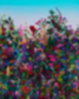 40호_-_Garden__2020_Acrylic_and_Paper_C