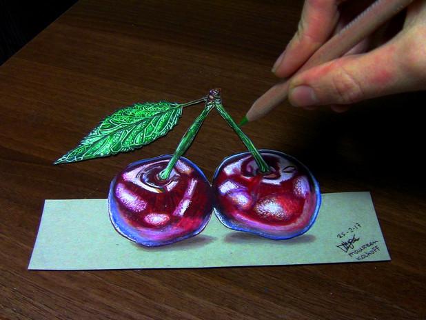 3D Drawing Cherries 2017.jpg