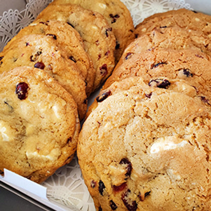 "Cookies by the Dozen - 4"" White Chocolate Cranberry"