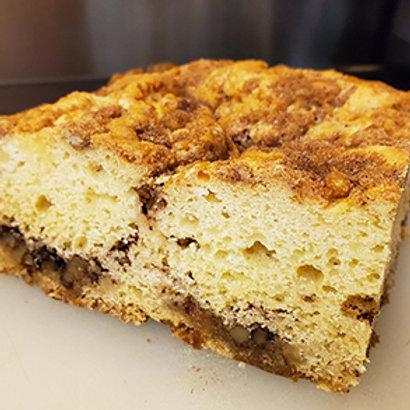 Sweet Breads - Cinnamon Coffee Cake with walnuts