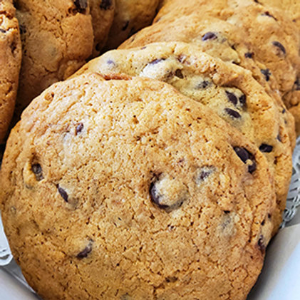 """Cookies by the Dozen - 4"""" Chocolate Chip"""
