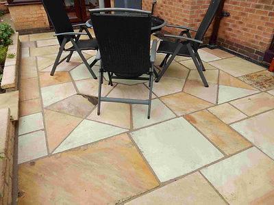 Indain Stone Patio Ilkeston