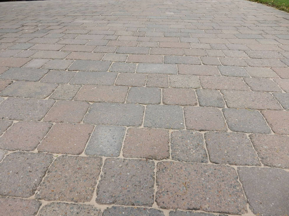 Block Paving After Cleaning