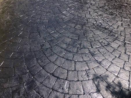 Sealed Concrete Drive