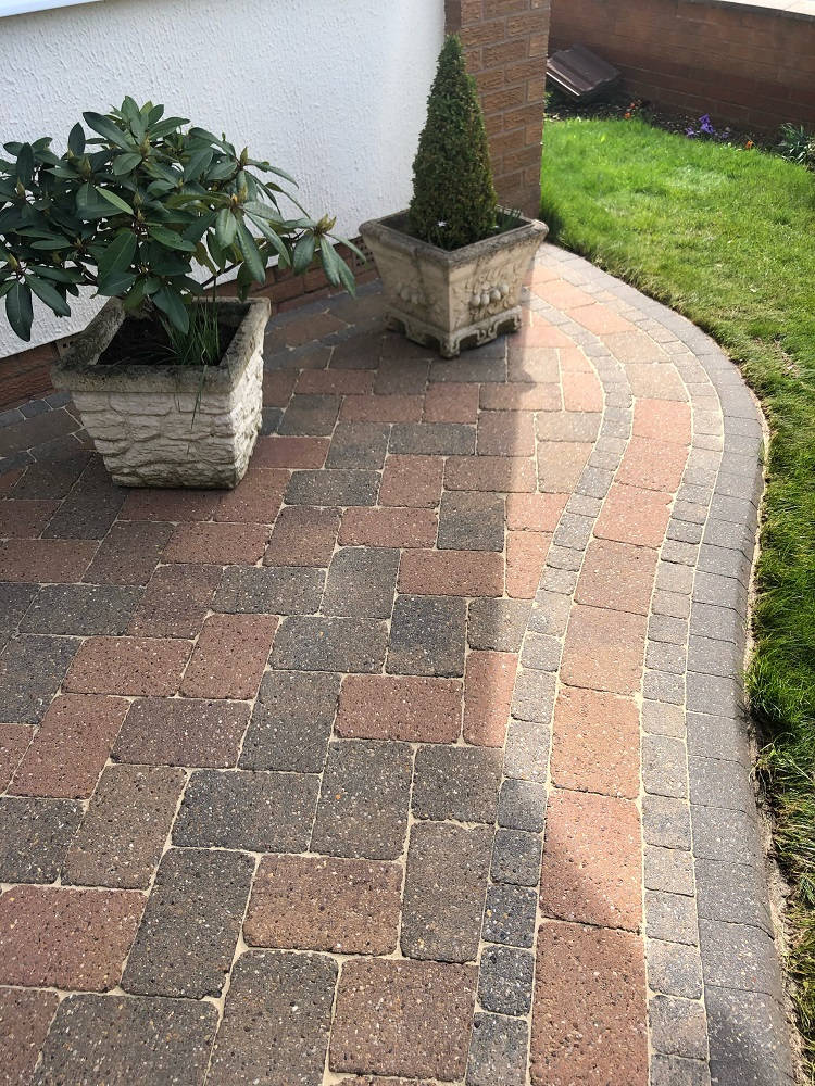 Cleaned Block Paving