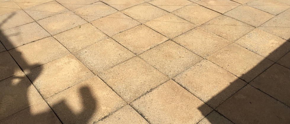Clean Patio