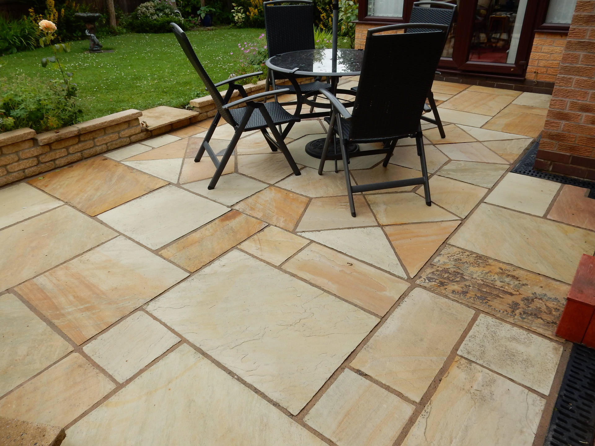 Indian Sandstone Cleaning After Cleaning