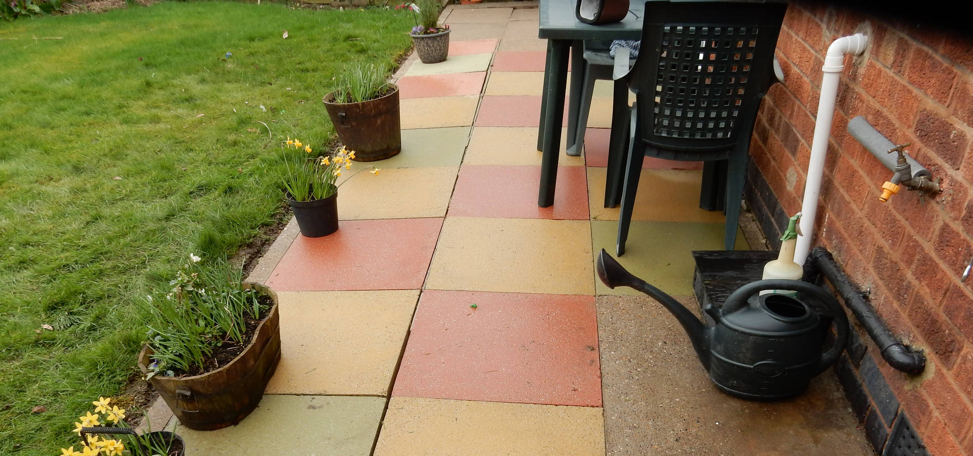 Patio After Cleaining