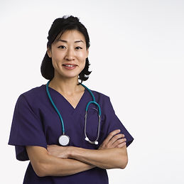 bigstock-Asian-woman-doctor-half-length-