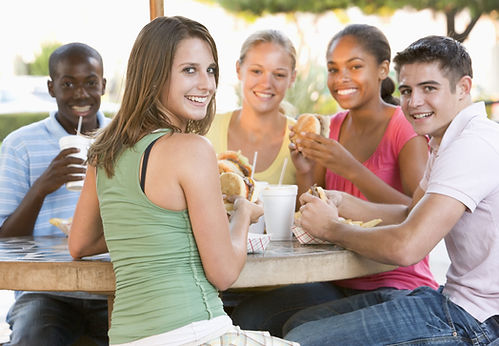 bigstock-Group-Of-Teenagers-Sitting-Out-