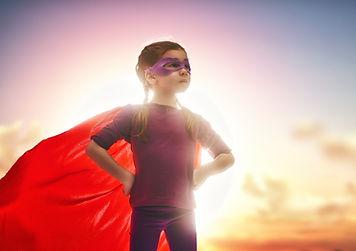 bigstock-Little-child-girl-plays-superh-