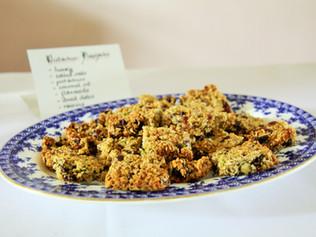 Sugar free pistachio flapjacks