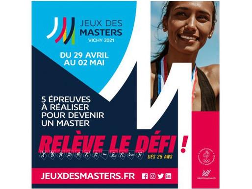 Jeux des Masters 2021 à Vichy