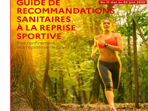 Des guides pratiques post-confinement liés a la reprise des activités physiques et sportives