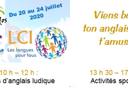 Stage Ados - 20 au 24 juillet 2020