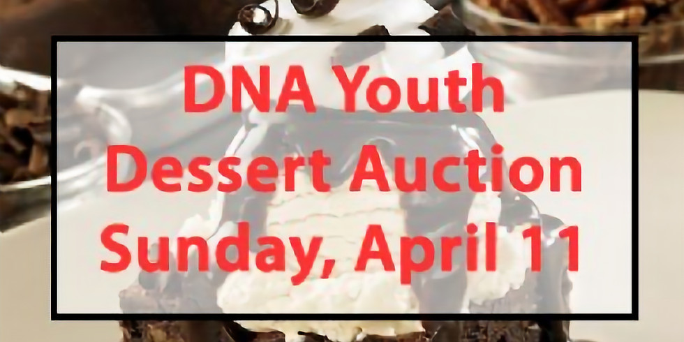 DNA Youth Dessert Auction (4/11)