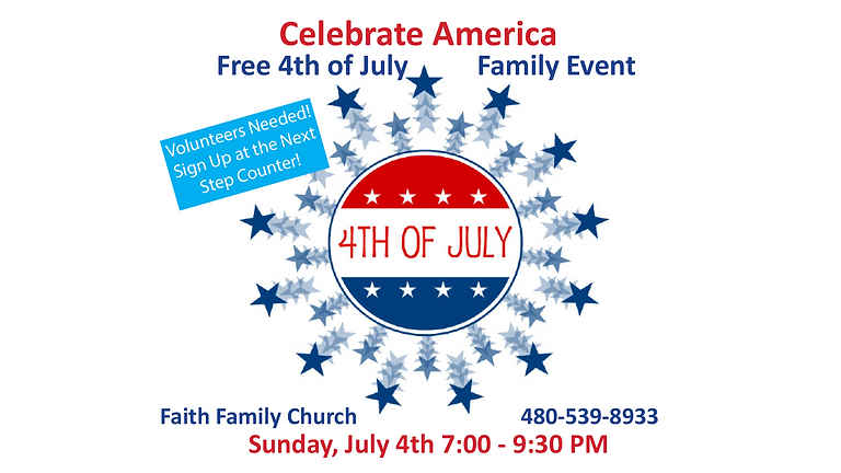 Celebrate America! 4th Of July