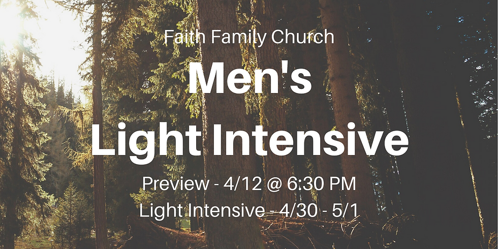 Men's Light Intensive
