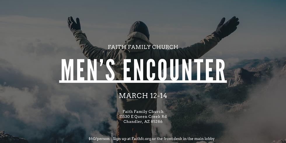 Men's Encounter (3/12-3/14)