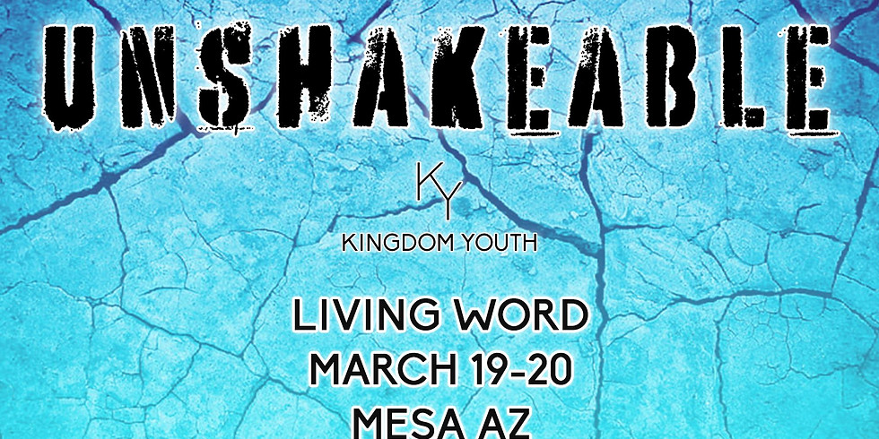 Kingdom Youth Conference (3/19-3/20)