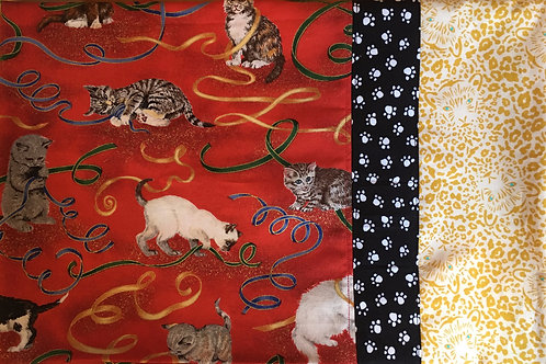 Dream Pillowcases: Playful Kitties, Paws and Leopards