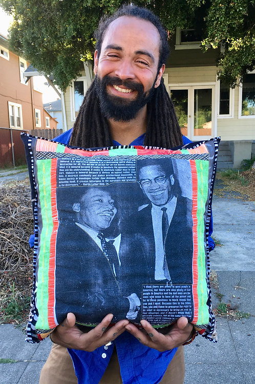 Capturing an Historic Moment in a Memory Pillow