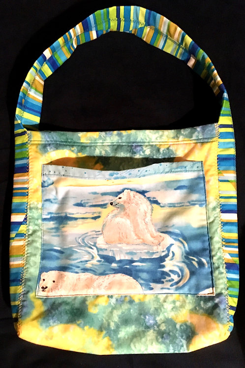 Let's Save the Polar Bears Tote.        SOLD!