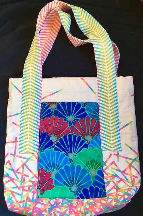 The Gift of Flowers Tote.        SOLD!