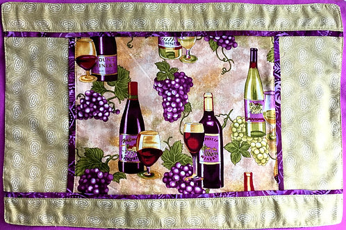 Pair of Placemats to Pair with Your Wine and Delicious Food!