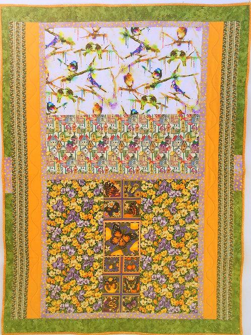 Birds 'N' Butterflies, Pollinators of Beautiful Flowers