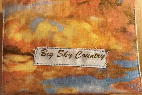 Oh Those Beautiful Clouds Tissue Holder SOLD