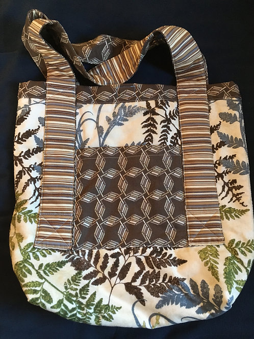 Forest Floor Ferns Tote