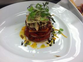 Tomato Papaya Caprese