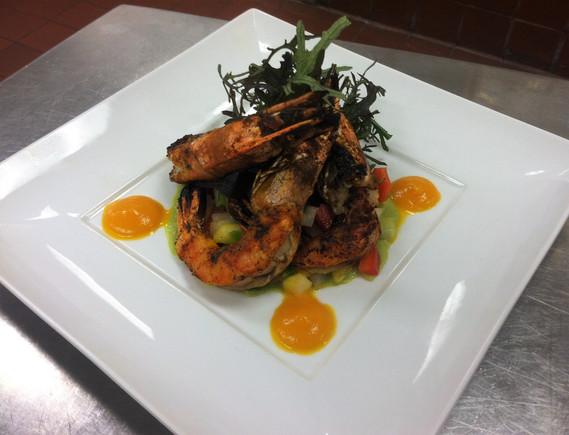 Molokai Shrimp Salad