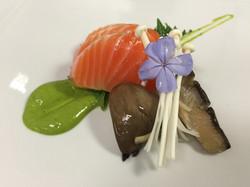 Salmon With Yuzu Kosho