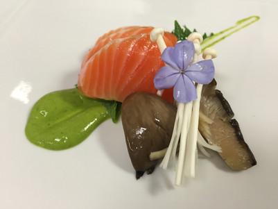 Salmon Yuzu Kosho