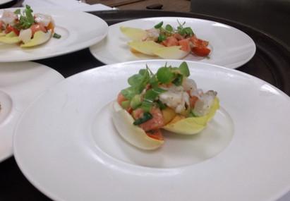 Watermelon Lobster Salad