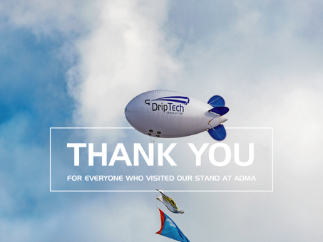 Thanks you's - ADMA Agrishow 2019