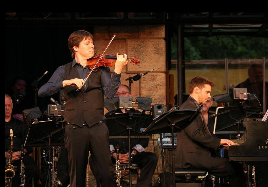 Peter Dugan and Joshua Bell