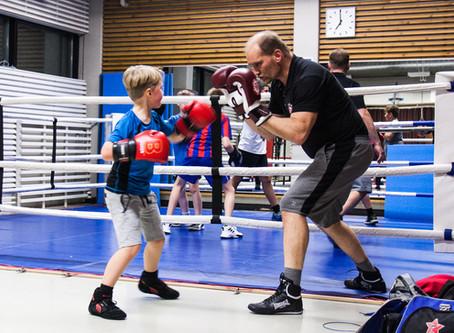 Nuorten nyrkkeilykurssit syksy 2019