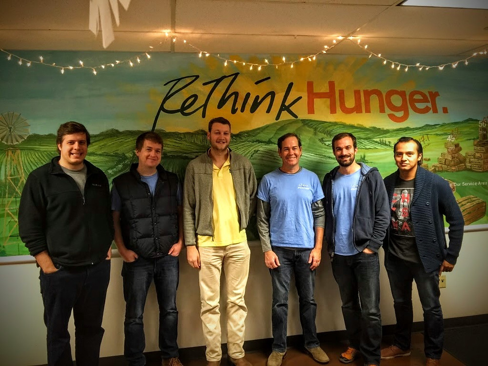 Phynd Team at ReThink Hunger