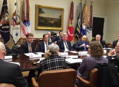 Tom White, CEO of Phynd Technologies, Inc., Attends White House Roundtable